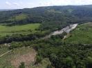 Vista del río Caldero a la altura de La Palmira