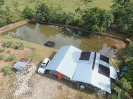 Estanque piscícola en El Sábalo cerca a Bateria 1